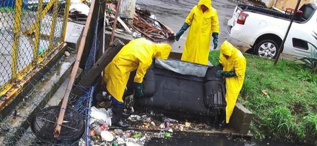 Prefeitura de Vila Velha retira 36 toneladas de lixo e de entulho