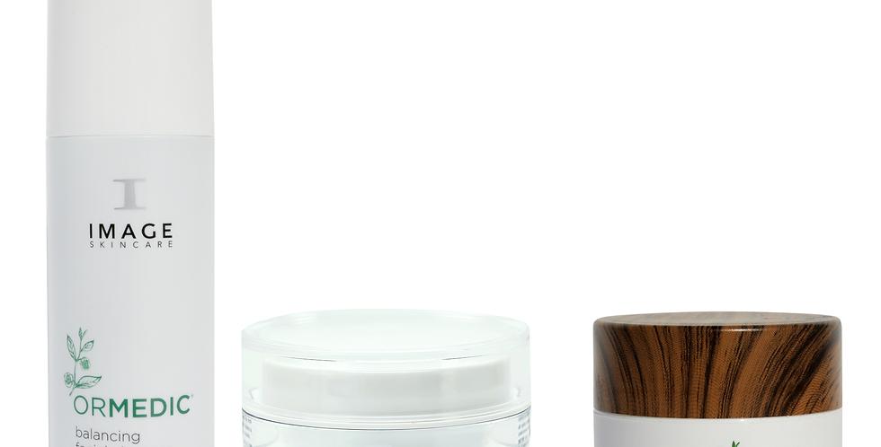 GO GREEN at-home facial kit