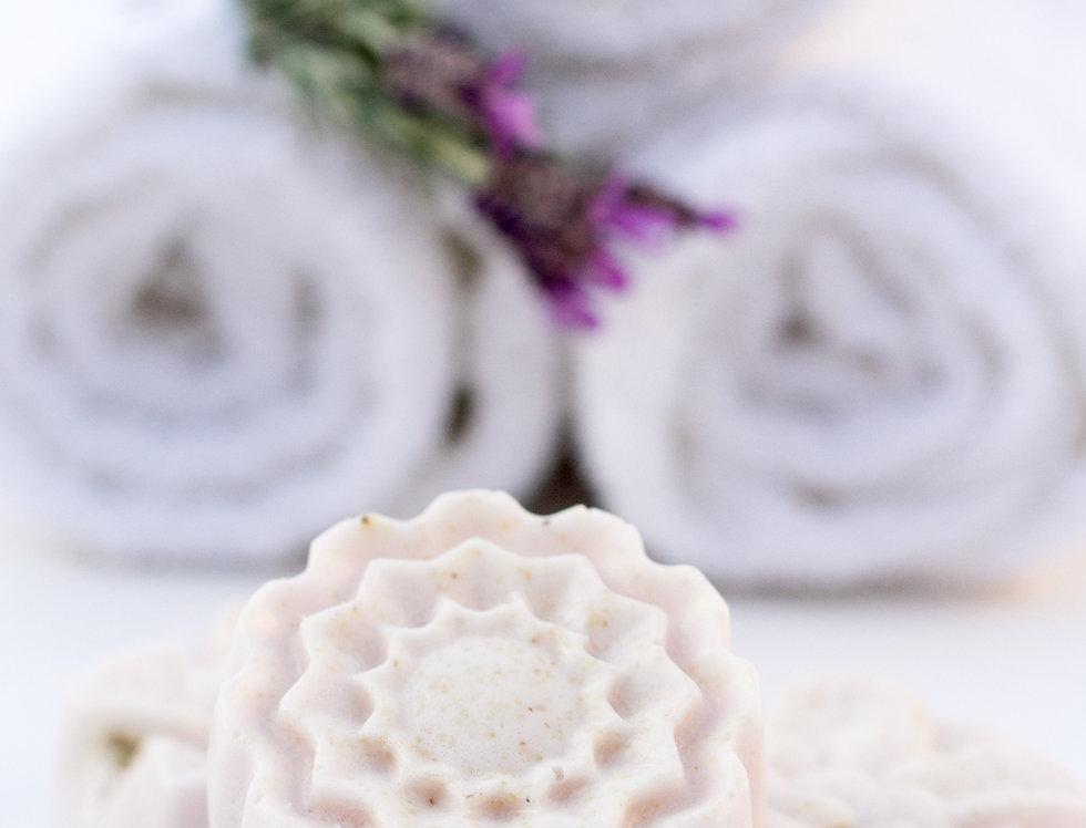 Antibacterial Lavender Loofah Soap