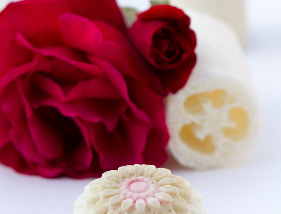 Loofah Rose Bar