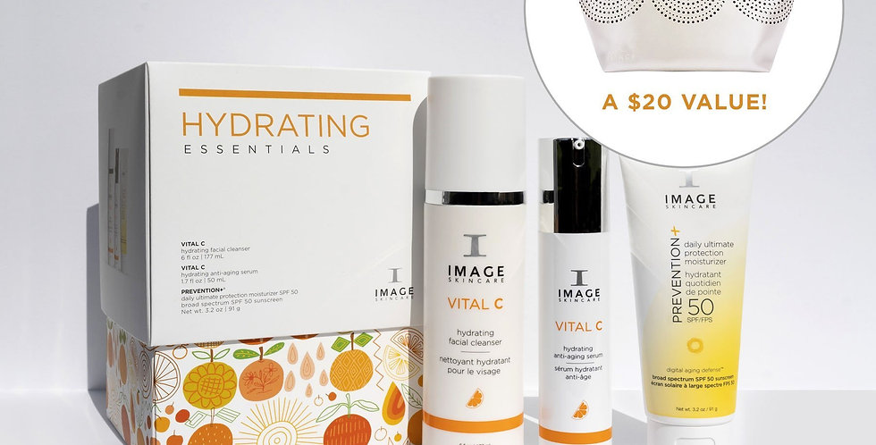 Hydrating Essentials with Free Gift Bag