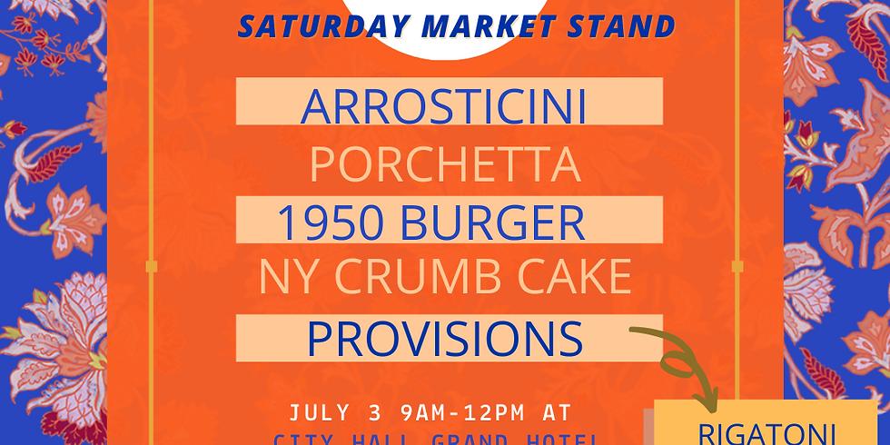 Saturday Market Stand