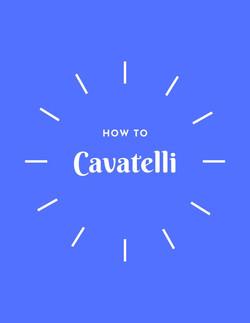 How to Cavatelli