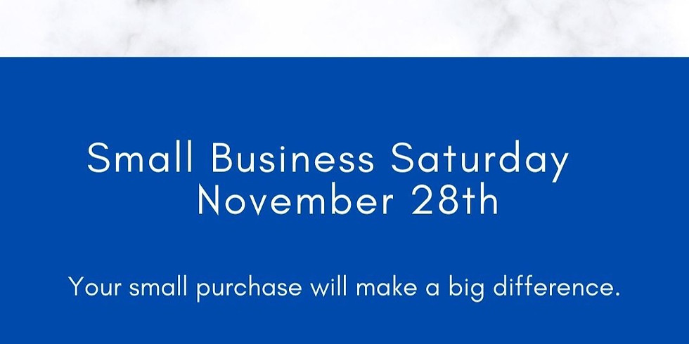 POP UP SHOP - Small Business Saturday