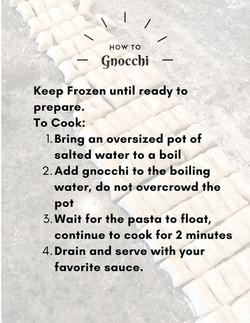 How to Gnocchi.