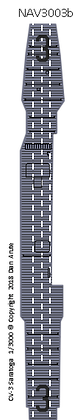 CV-3 Saratoga MS blue deck nvw