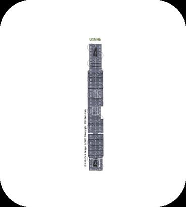 USN4b CV-4 Ranger MS Blue deck