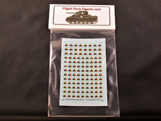 3rd Armored Division Badge Large