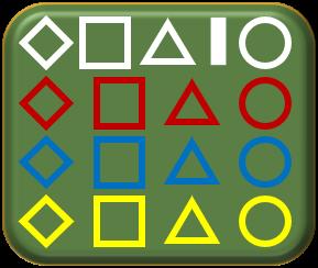 British WWII 1-285 tank geometric tactical symbols
