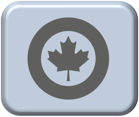 1-300 Canadian modern low visibility mid grey roundels