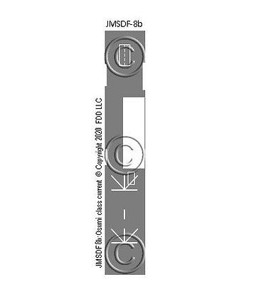 JMSDF 8b: LST Osumi class curent markings