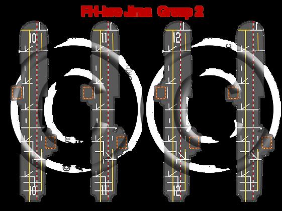 6K Iwo Jima Class Group 2: Tripoli, Inchon, Okinawa & generic