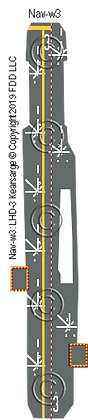 LHD-3 Kearsarge deck nvw