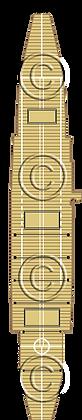 French CV Bern 1-1800 scale