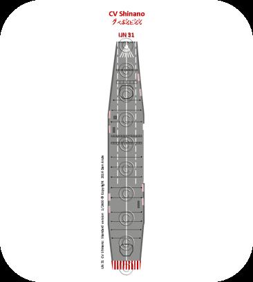IJN31  CV Shinano: Standard version