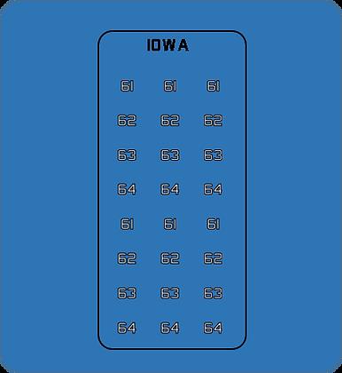 IBBHN Iowa Class BB Hull Numbers