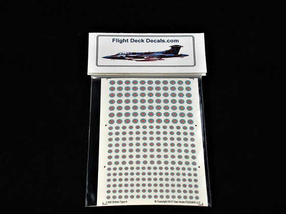 1-300 RAF Modern Low Visibility decals
