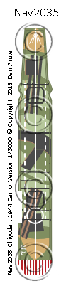 CVE Chiyoda 1944 camo version nvw