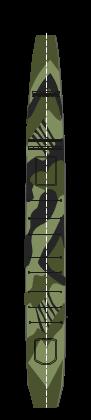 CVL Ryuho Camo version 2 deck nvw