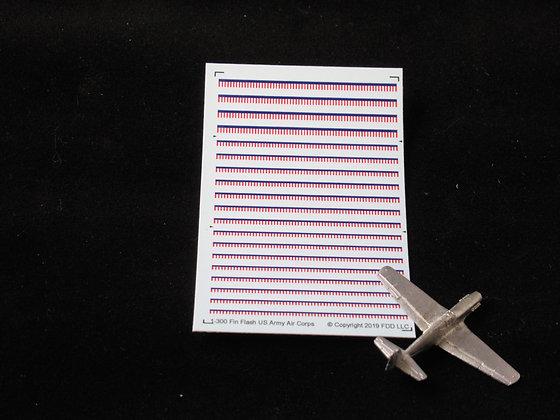 1-300 Decals USAAC Fin Flash