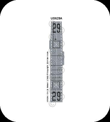 USN29 CVL-29 Bataan