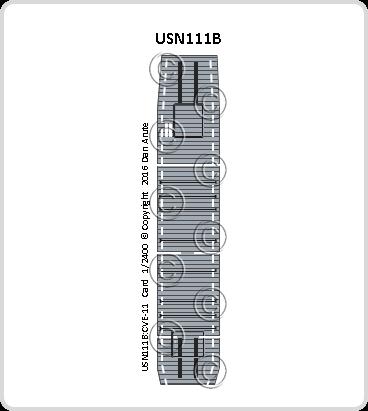 USN111b CVE-11 Card