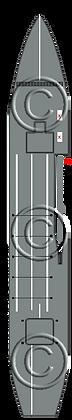 CV Eagle variant 2  1-1800 scale