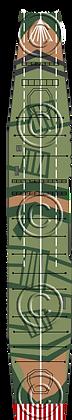 CV Shinano camo V2 deck 1-1800 scale