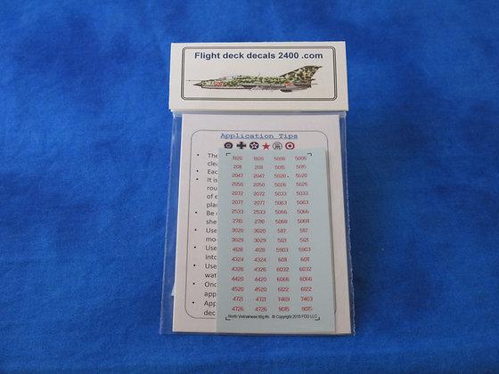 North Vietnamese MIG numbers 1/300