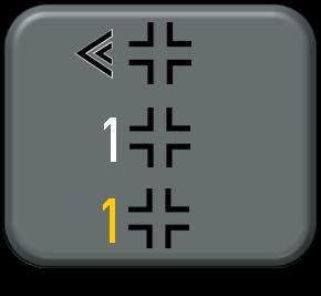 1-300 Luftwaffe Gruppe I Staffel Late War markings