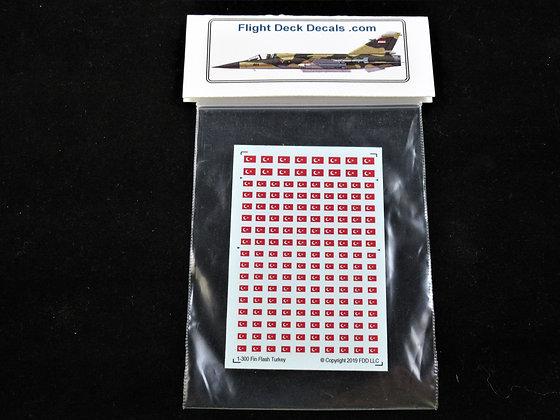 Turkish Fin Flash 1/300