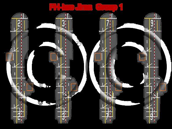 6K Iwo Jima Class Group 1: Iwo Jima, Okinawa, Guadalcanal & Guam