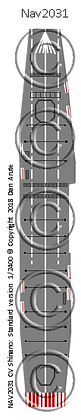 CV Shinano: Standard version nvw