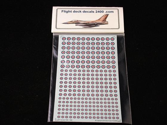 1-300 Canada 1946-1965 Roundel decals