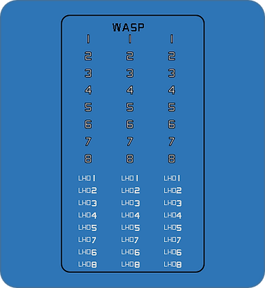 WLHDHN Wasp Class LHD Island & Hull