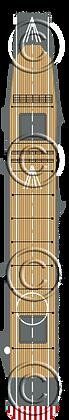 CV Junyo & Hiyo standard deck 1-1800 scale