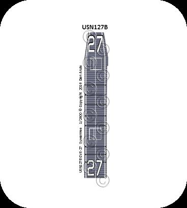 USN127b: CVE-27 Suwannee measure 21
