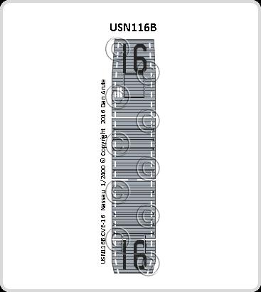 USN116b CVE-16 Nassau