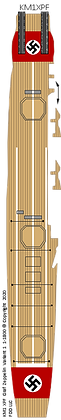 Graf Zeppelin Variant 1   1-1800 scale