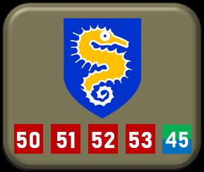 British WWII 27th Armoured Brigade markings 1-285