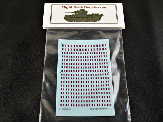 French Flag Decals