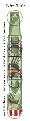 CVE Chitose 1944 camo version nvw