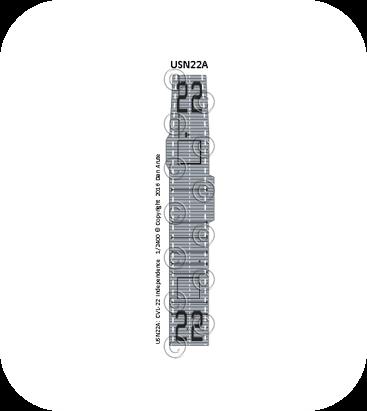 USN22 CVL-22 Independence