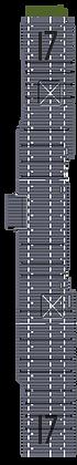 USN17b: CV-17 Bunker Hill MS blue