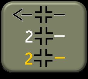 1-300 Luftwaffe Gruppe II Staffel Late War markings