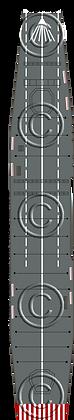 CV Shinano standard steal deck 1-1800 scale