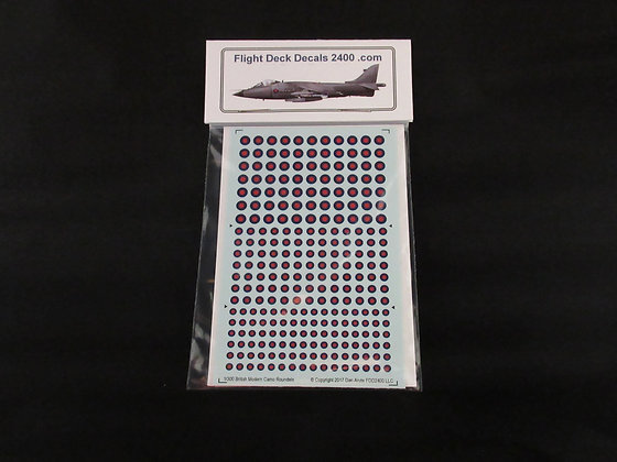 1-300 RAF Modern Camo Surfaces Roundel decals
