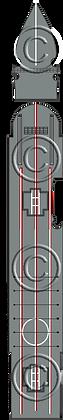 HMS Glorious  1-1800 scale