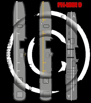 6K RN WWII Perseus version 1 & 2, &  Unicorn class maintenance CV