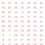 Thumbnail: 1/300 BORT Numbers (Large) Red with White Outline